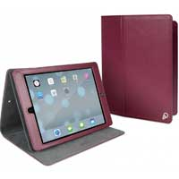 Cygnett Archive Classic Folio Cover with Stand for iPad Air - Burgandy