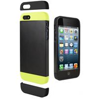 Cygnett Alternate Case for iPhone 5s - Black/Lime