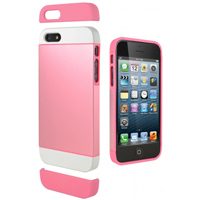 Cygnett Alternate Case for iPhone 5/5s - White/Pink