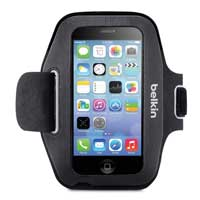 Belkin Sport-Fit Armband for iPhone 5/5s/5c - Black/Gray