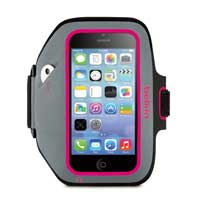 Belkin Sportfit Plus Armband for iPhone 5/5s/5c - Gray/Purple