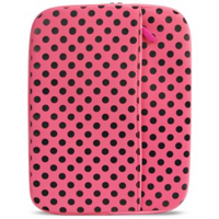 "Travelocity 7"" Neoprene Case - Pink Polka-Dot"