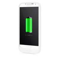 Incipio Technologies 3100mAh Offgrid Extended Battery Case for Samsung Galaxy S 4 - White