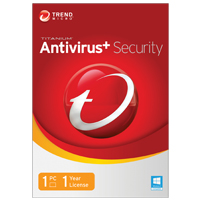 Trend Micro 2014 Titanium AntiVirus 1 User 1Year (PC/Mac)