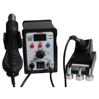 Tenma 2-in-1 Rework Station - Hot Air and Soldering Iron