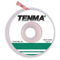 Tenma Rosin Flux Desoldering Braid - 25' x 0.1''