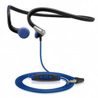 Sennheiser PMX 685i In-Ear Neckband Sports Headphones - Black/Blue