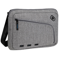 "Ogio Newt Slim Carrying Case for Laptops fits Screens up to 13"" - Gray"
