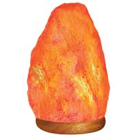 Himalayan Light Himalayan Ionic Crystal Natural Salt Lamp 5-7lbs