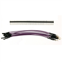 "Schmartboard Inc. 5"" Male to Female Jumper Wires with Headers"