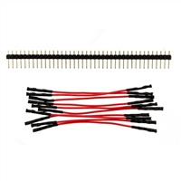 "Schmartboard Inc. Jumper Wires 3"" Jumpers with Headers"