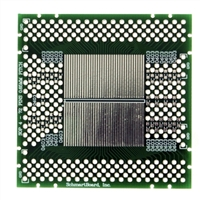 "Schmartboard Inc. SOP 4 - 72 Pins 0.65mm Pitch 2"" X 2"" Grid EZ Version"