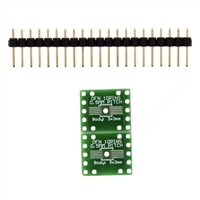 Schmartboard Inc. ez 0.5mm Pitch 10 Pin DFN to DIP adapter