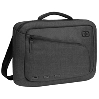 "Ogio Newt Slim Carrying Case for Laptops fits Screens up to 15"" - Black"