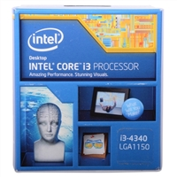 Intel Core i3 4340 3.6GHz LGA 1150 Boxed Processor