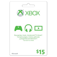 InComm XBOX Live $15 Card