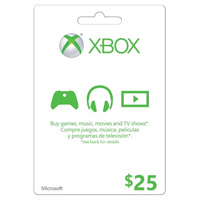 InComm XBOX Live $25 Card