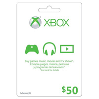 InComm XBOX Live $50 Card