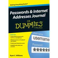Wiley PASSWORDS & INTERNET ADDR