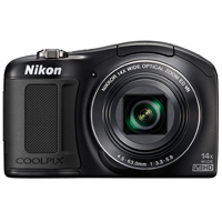 Nikon Coolpix L620 18.1 Megapixel Digital Camera - Black