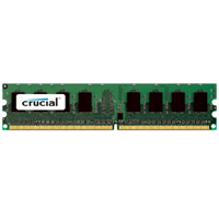 Crucial 4GB DDR2-667 (PC2-5300) CL5 Desktop Memory Module