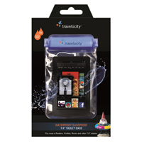 "Travelocity Waterproof/Sandproof 7"" Tablet Case with Aux Port"