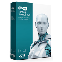 ESET NOD32 Antivirus 2014 Edition 1 User 1 Year (PC)