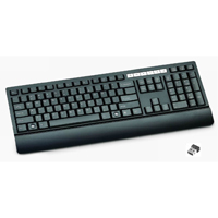 Inland USB Wireless Multimedia Keyboard