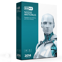 ESET NOD32 Antivirus 2014 Edition 3 Users