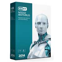 ESET NOD32 Antivirus 2014 Edition 2 Years 1 User