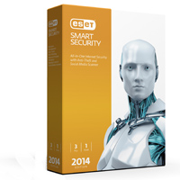 ESET Smart Security 2014 Edition 3 Users 1 Year (PC)