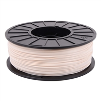 Toner Plastics White 1.75mm ABS Filament 1kg/2.2lbs
