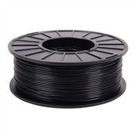 Toner Plastics Black 1.75mm ABS Filament 1kg/2.2lbs