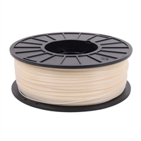 Toner Plastics Natural 1.75mm ABS Filament 1kg/2.2lbs