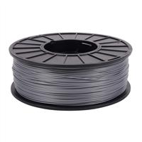 Toner Plastics Silver 1.75mm ABS Filament 1kg/2.2lbs