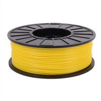 Toner Plastics Yellow 1.75mm ABS Filament 1kg/2.2lbs