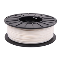 Toner Plastics White 1.75mm PLA Filament 1kg/2.2lbs