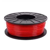 Toner Plastics Red 1.75mm PLA Filament 1kg/2.2lbs