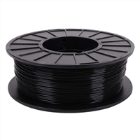 Toner Plastics Black 1.75mm PLA Filament 1kg/2.2lbs