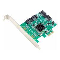 Syba 4 Port SATA III 6.0Gb/s PCIe Controller Card
