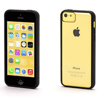 Griffin Reveal Case for iPhone 5c - Black/Clear