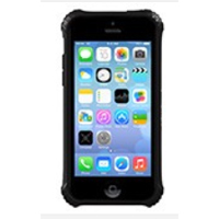 Griffin Survivor Clear Case for iPhone 5c - Black/Clear