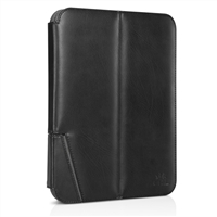 Chil Inc Notchbook Executive Leather Folio for Samsung Galaxy Tablet 3 10.1 - Black