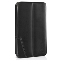 Chil Inc Notchbook Executive Leather Folio for Samsung Galaxy Tablet 3 8.0 - Black