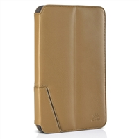 Chil Inc Notchbook Executive Leather Folio for Samsung Galaxy Tablet 3 8.0 - Tan