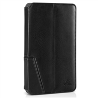 Chil Inc Notchbook Executive Leather Folio for Samsung Galaxy Tab 3 7.0 - Black