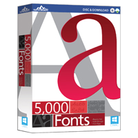 SummitSoft 5000 Fonts (PC)