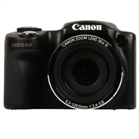Canon PowerShot SX510 HS 12.1 Megapixel Digital Camera - Black