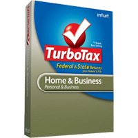 Intuit TurboTax Home & Business Federal + State Tax Year 2013 (PC)