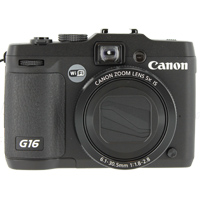 Canon PowerShot G16 12.1 Megapixel Digital Camera - Black